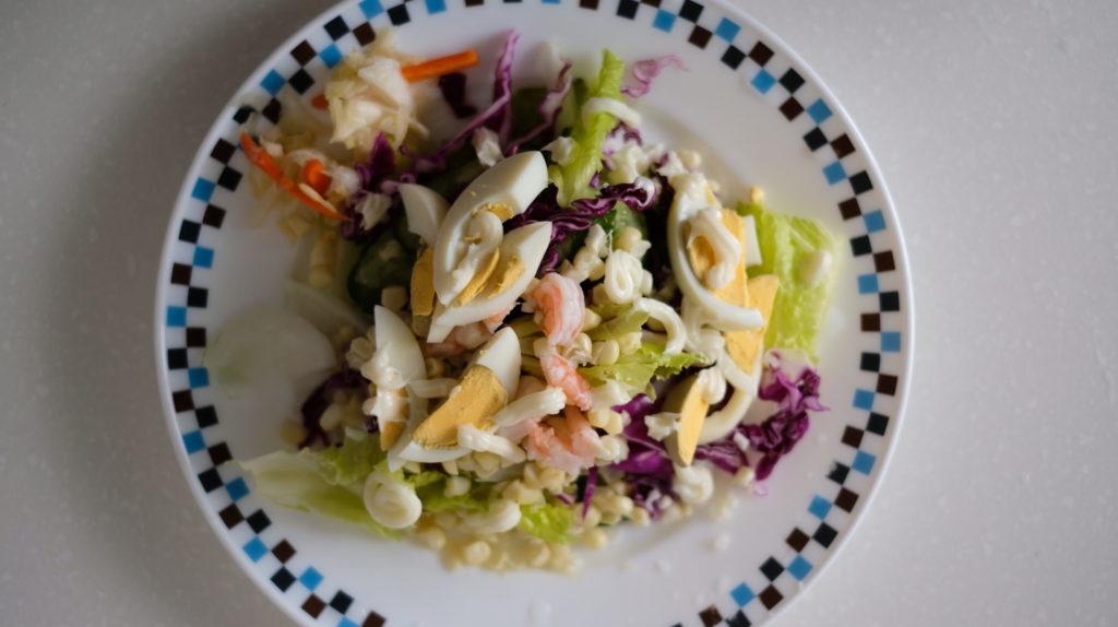 健康生菜沙拉總匯
