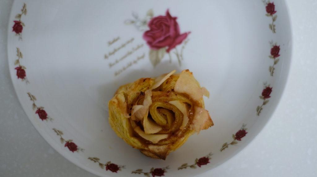 酥皮玫瑰蘋果派